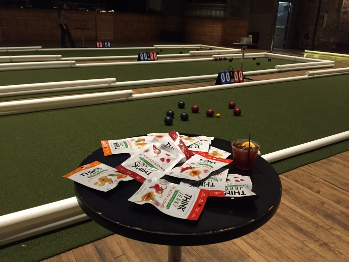 think jerky at bocce